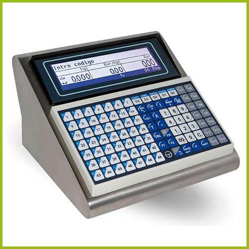 Balanzas comerciales Visor etiquetador ML-50